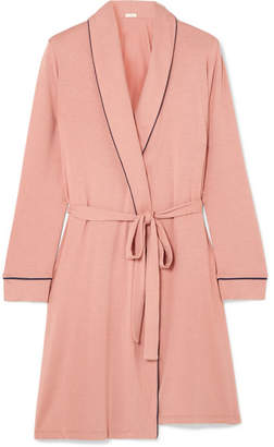 Eberjey Gisele Stretch-modal Jersey Robe - Antique rose