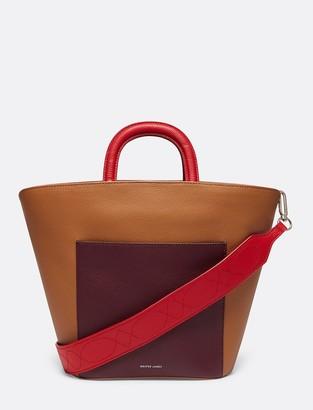 Draper James Leather Bucket Bag