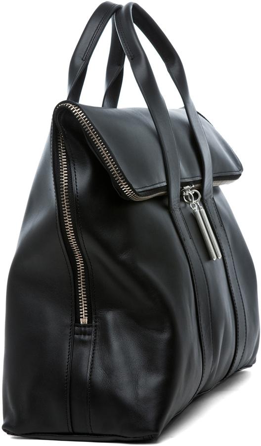 3.1 Phillip Lim Hour Bag in Black