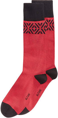 Alfani Men's Tiled Socks, Created for Macy's