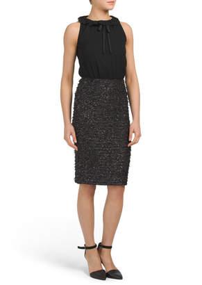 Sparkle Coupe Knit Dress