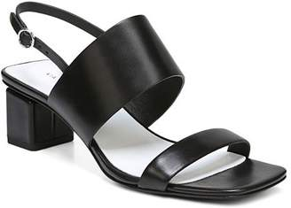 Via Spiga Women's Forte Leather Slingback Block Heel Sandals