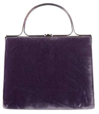 Judith Leiber Velvet Evening Bag