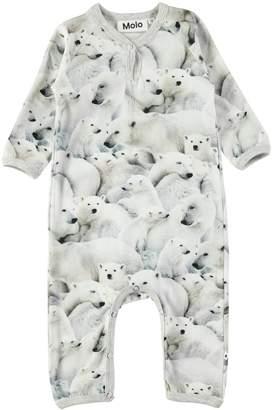 Molo Polar Bear Playsuit