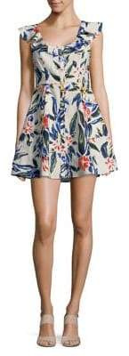 ASTR the Label Alana Floral Printed Dress