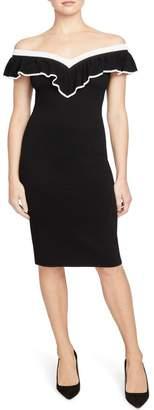 Rachel Roy COLLECTION Ruffle Convertible Sweater Dress