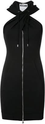 Moschino twist front hoodie dress