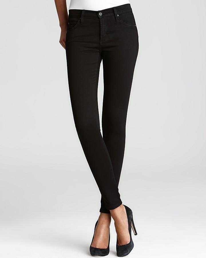 James Jeans Legging Jeans - Twiggy in Black