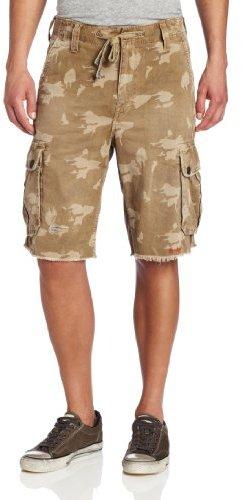 True Religion Men's Recon Camouflage Cargo Short