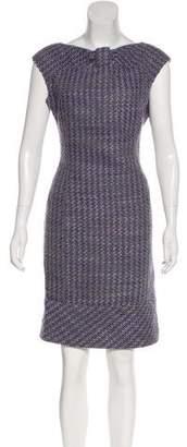 Valentino Virgin Wool Shift Dress