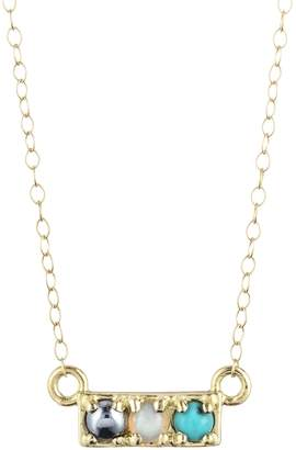 Lulu Frost CODE Word Hot Necklace 18k Gold