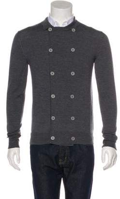 Christian Dior 2006 Wool Double-Breasted Cardigan