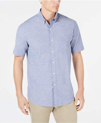 Club Room Men Regular-Fit Stretch Oxford Shirt