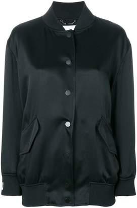 Fendi embellished logo bomber jacket