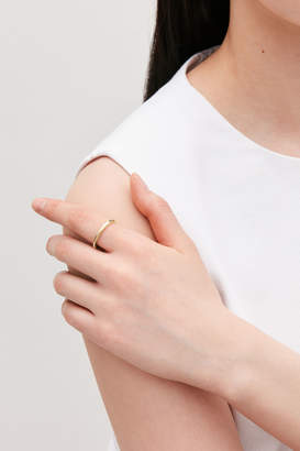 Cos GOLD-PLATED RING