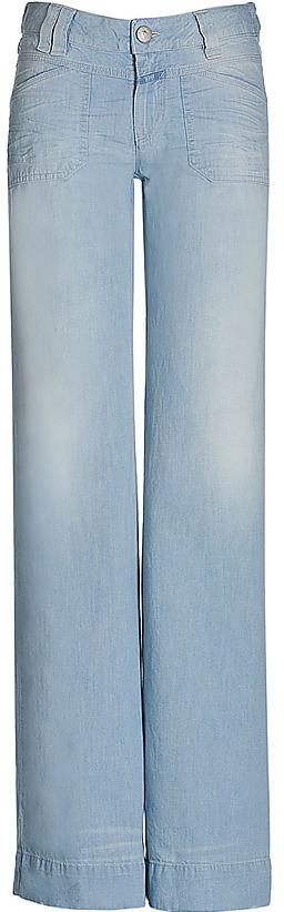 CLOSED Light Blue Wide Leg Jeans