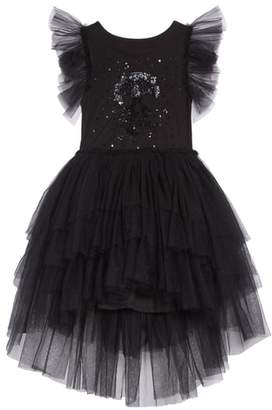 Nununu Sequin Embroidered Tulle Dress
