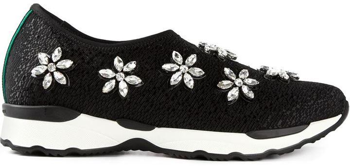 Philippe Model gem embellished sneakers