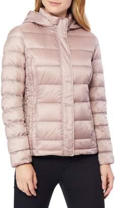 32 Degrees Ultra-Light Hooded Short Down Jacket