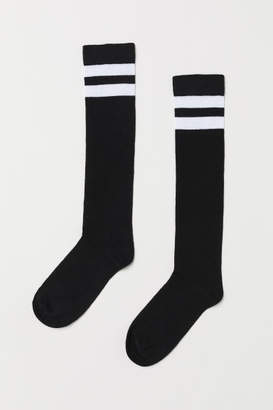 H&M Knee Socks - Black