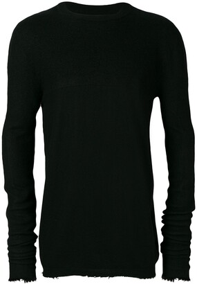 Unravel Project distressed long-sleeve sweater