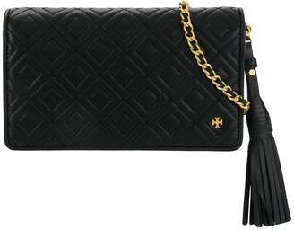 Tory Burch Fleming flat wallet cross-body bag