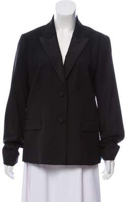 Tory Burch Wool Peak-Lapel Blazer