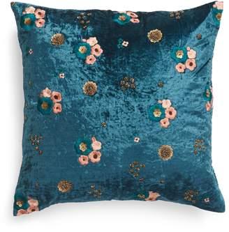Nordstrom Floral Velvet Accent Pillow