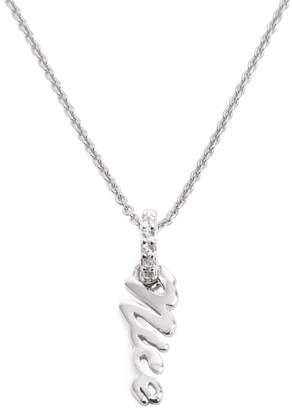 Lola Rose London - Nice Charm Necklace White Topaz