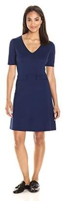 Paris Sunday Women's Short Sleeve Shift Dress
