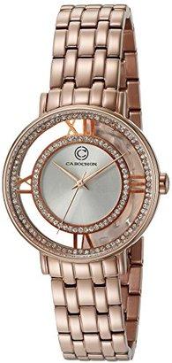 Cabochon Women 's ' Carnaval ' QuartzステンレススチールCasual Watch ( Model 80288-rg-02s )
