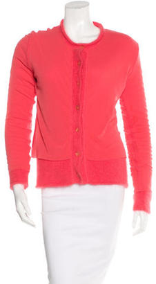 Jean Paul Gaultier Layered Knit Cardigan $95 thestylecure.com