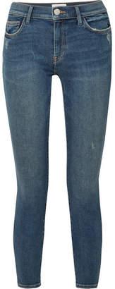 Current/Elliott - The Stiletto Mid-rise Skinny Jeans - Mid denim