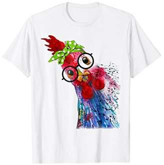 Funny Chicken Lover T-Shirt Hen Love Farmer Tee