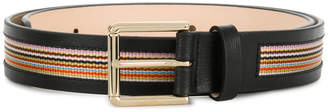 Paul Smith signature stripe trim belt