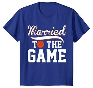 Married To The Basketball Game Players T-shirt