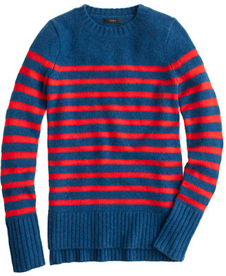 J.Crew Collection cashmere heathered stripe tunic
