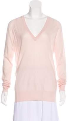 Equipment Semi-Sheer Cashmere Sweater