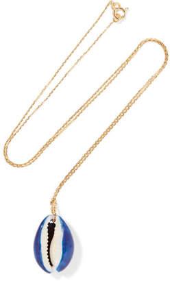 Aurelie Bidermann Merco Gold Shell Necklace