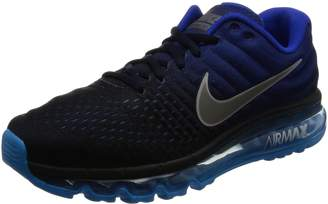 Nike Men's Air Max 2017 Dark Obsidian/White Running Shoe 11 Men US