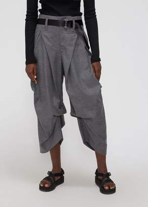 Issey Miyake Wool Pleated Pant