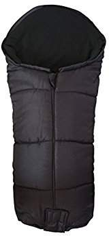 N. Universal Deluxe Footmuff for Out About Nipper / 360 / Double/Sport Black