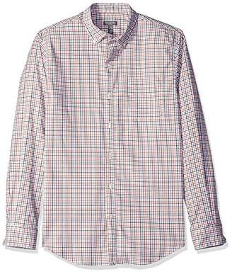 Van Heusen Men's Flex Button Down Long Sleeve Stretch Check Shirt