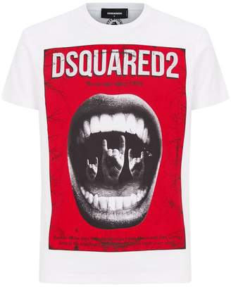 DSQUARED2 Be Savage Punk T-Shirt