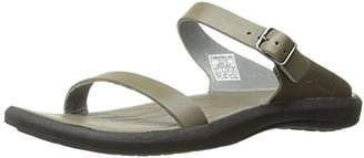 Columbia Women's Caprizee Leather Slide Athletic Sandal