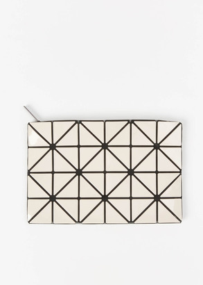 Issey Miyake BAO BAO beige small lucent clutch $250 thestylecure.com