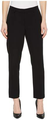 Ellen Tracy Pintuck Ankle Pants Women's Casual Pants