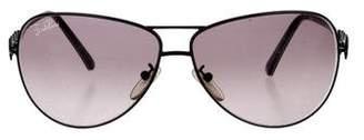Emilio Pucci Tinted Aviator Sunglasses