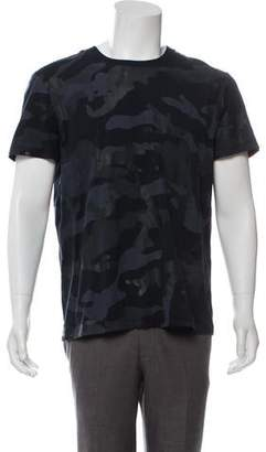 Valentino Accented Camouflage T-Shirt
