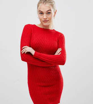 Brave Soul Petite Poppy Sweater Dress